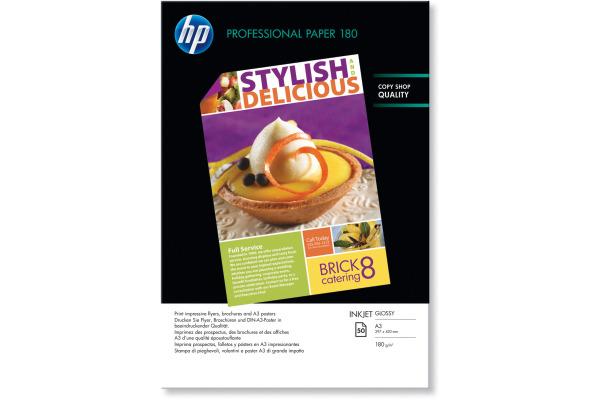 HP Superior Paper glossy A3 C6821A InkJet, 180g 50 Blatt