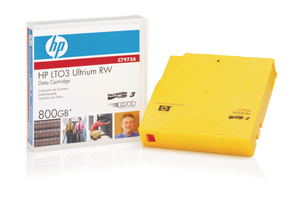 HP LTO Ultrium 3 400/800GB C7973A Data Tape