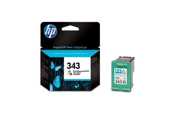 HP Tintenpatrone 343 color C8766EE Photosmart 325 260 Seiten