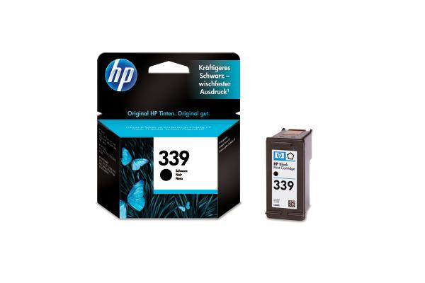 HP Tintenpatrone 339 schwarz C8767EE DeskJet 5740 800 Seiten