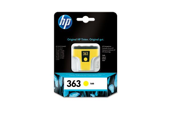 HP Tintenpatrone 363 yellow C8773EE PhotoSmart 8250 500 Seiten