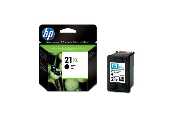 HP Tintenpatrone 21XL schwarz C9351CE PSC 1410 475 Seiten