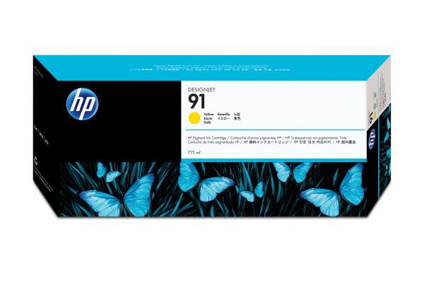 HP Tintenpatrone 91 yellowow C9469A DesignJet Z6100 775ml