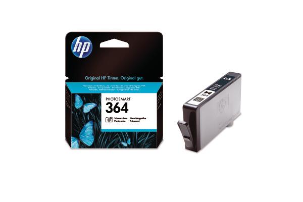 HP Tintenpatrone 364 ph.schwarz CB317EE PhotoSmart D5460 130 Seiten