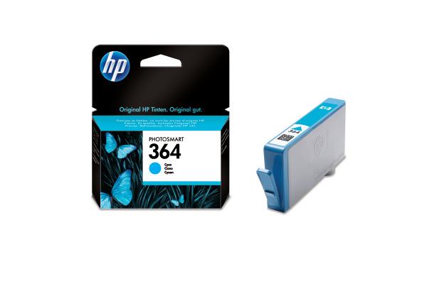 HP Tintenpatrone 364 cyan CB318EE PhotoSmart D5460 300 Seiten