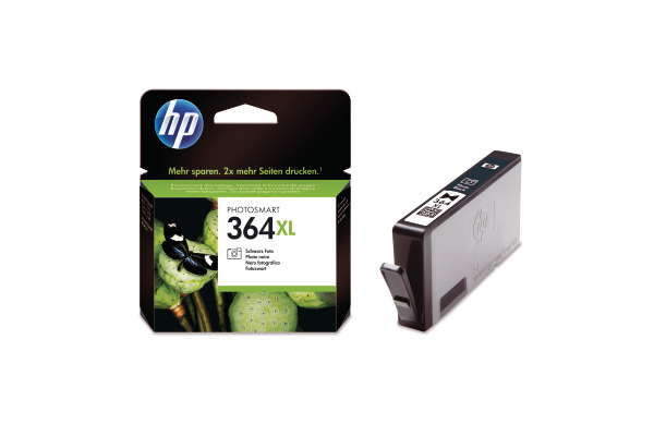HP Tintenpatrone 364XL ph.schwarz CB322EE PhotoSmart D5460 290 Seiten