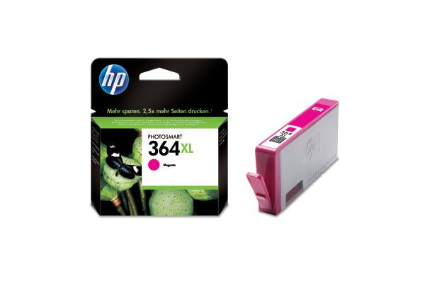 HP Tintenpatrone 364XL magenta CB324EE PhotoSmart D5460 750 Seiten