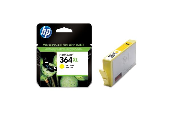 HP Tintenpatrone 364XL yellow CB325EE PhotoSmart D5460 750 Seiten