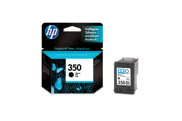 HP Tintenpatrone 350 schwarz CB335EE OfficeJet J 5780 200 Seiten