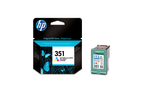 HP Tintenpatrone 351 color CB337EE OfficeJet J 5780 170 Seiten