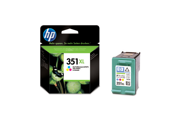 HP Tintenpatrone 351XL color CB338EE OfficeJet J 5780 580 Seiten