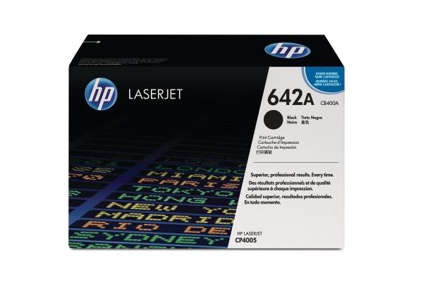 HP Toner-Modul 642A schwarz CB400A Color LaserJet CP4005 7500 S.