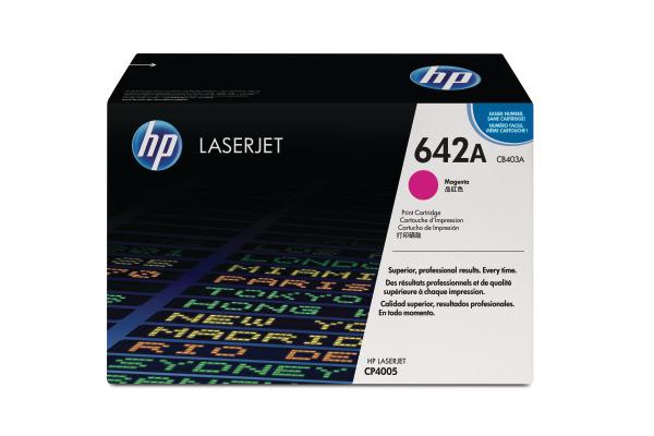 HP Toner-Modul 642A magenta CB403A Color LaserJet CP4005 7500 S.