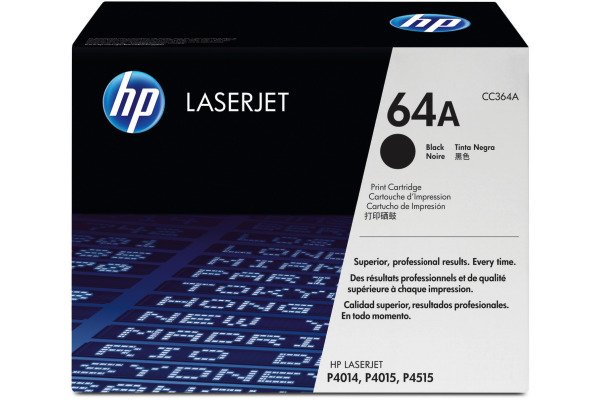 HP Toner-Modul 64A schwarz CC364A LaserJet P4014 10´000 Seiten