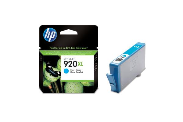 HP Tintenpatrone 920XL cyan CD972AE OfficeJet 6500 700...
