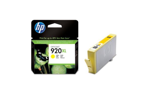 HP Tintenpatrone 920XL yellow CD974AE OfficeJet 6500 700...