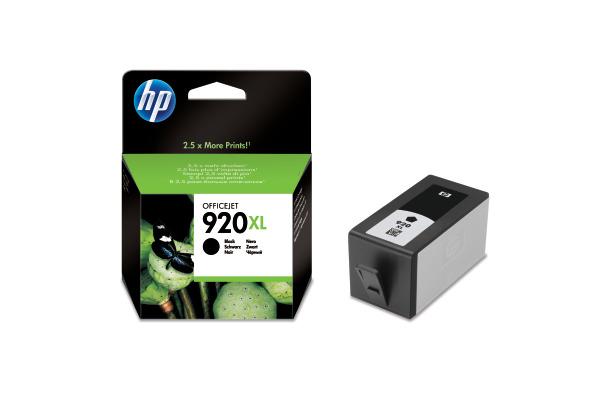 HP Tintenpatrone 920XL schwarz CD975AE OfficeJet 6500...