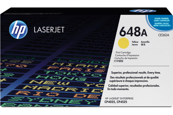 HP Toner-Modul 648A yellow CE262A Color LJ CP4025 11000...