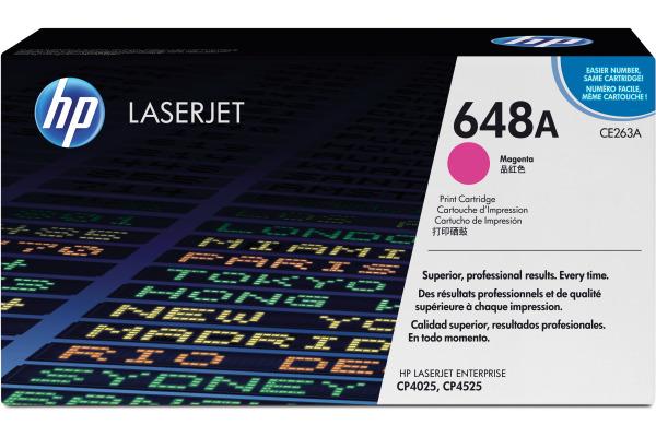 HP Toner-Modul 648A magenta CE263A Color LJ CP4025 11000...