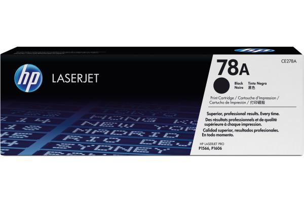 HP Toner-Modul 78A schwarz CE278A LaserJet Pro P1566 2100 Seiten
