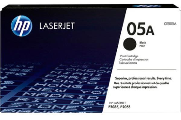 HP Toner-Modul 05A schwarz CE505A LaserJet P2035/55 2300 Seiten
