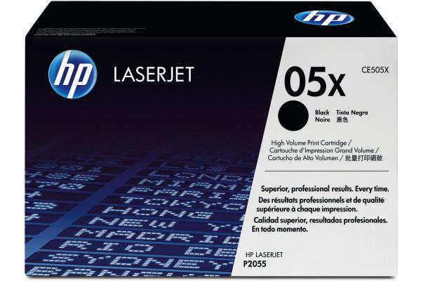 HP Toner-Modul 05X schwarz CE505X LaserJet P2055 6500 Seiten
