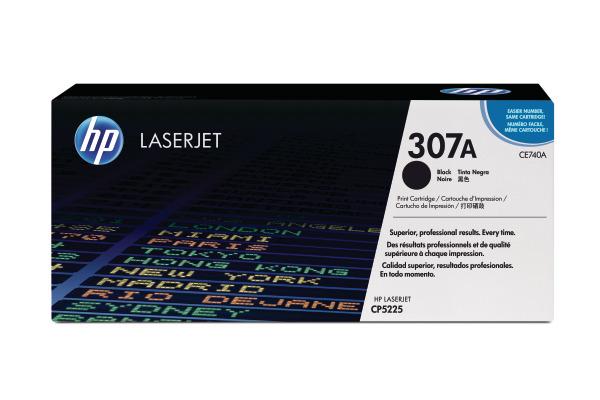 HP Toner-Modul 307A schwarz CE740A Color LJ CP5225 7000 Seiten