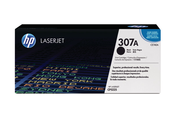 HP Toner-Modul 307A schwarz CE740A Color LJ CP5225 7000...