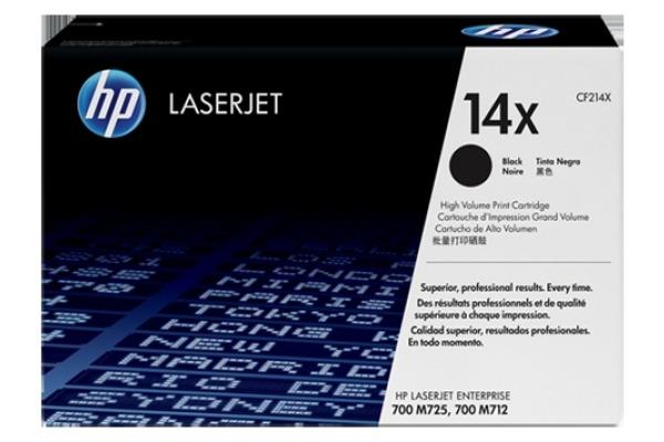 HP Toner-Modul 14X schwarz CF214X LJ Enterpr.700 M712 17´500 S.