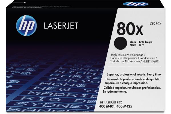 HP Toner-Modul 80X schwarz CF280X LaserJet Pro 400 6900 Seiten