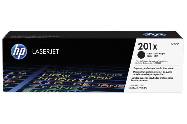 HP Toner-Modul 201X schwarz CF400X CLJ Pro M252/MFP277...