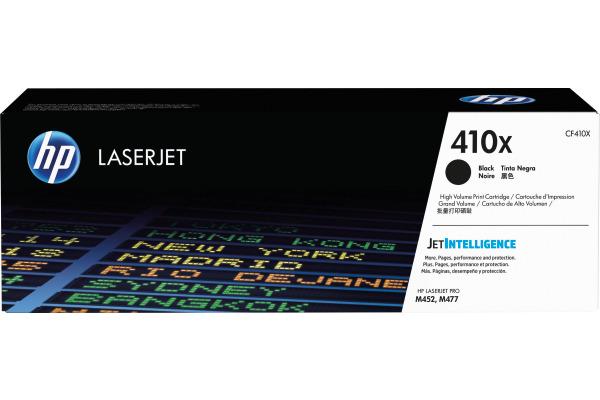 HP Cartouche toner 410X noir CF410X CLJ Enterprise M452 6500 p.