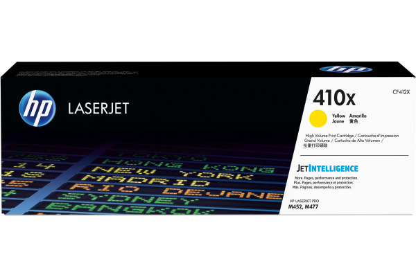 HP Toner-Modul 410X yellowow CF412X CLJ Enterprise M452 5000 Seiten