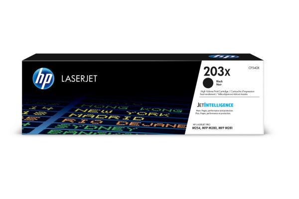 HP Toner-Modul 203X schwarz CF540X CLJ Pro M254/MFP M280...