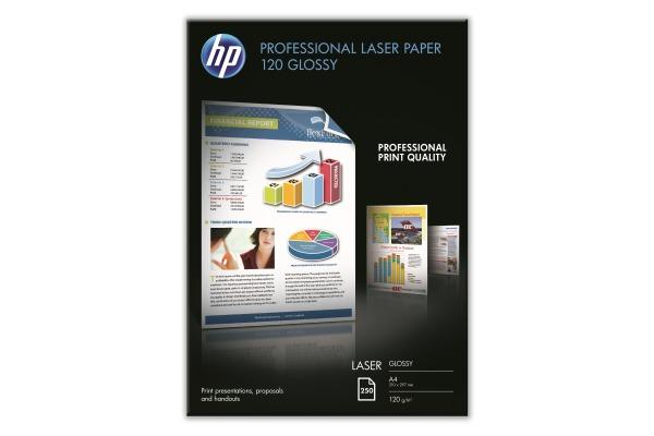 HP Prof. Laser Paper 250 Blatt CG964A LaserJet 120g glossy A4