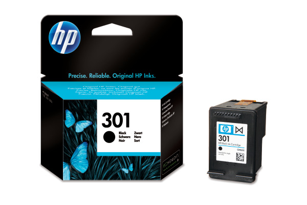 Cartouche d'encre HP 301 noir Originale (HP CH561EE)