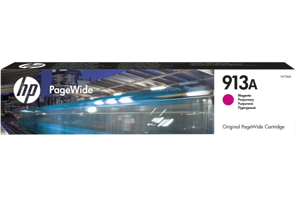HP PW-Cartridge 913A magenta F6T78AE PageWide Pro 352/452 3000 S.