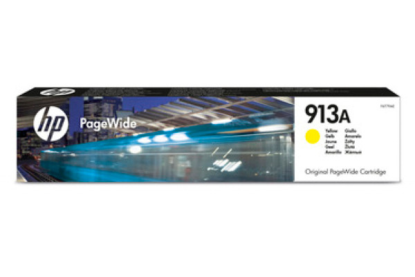 HP PW-Cartridge 913A yellow F6T79AE PageWide Pro 352/452 3000 S.