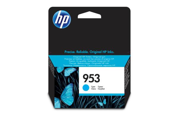 HP Tintenpatrone 953 cyan F6U12AE OfficeJet Pro 8710 700 S.