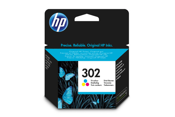 Cartouches d'encre HP 302 3 couleurs Originale (HP F6U65AE)