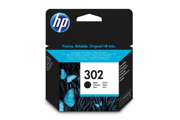Cartouche d'encre HP 302 noir Originale (HP F6U66AE)