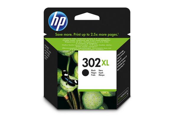 HP Tintenpatrone 302XL schwarz F6U68AE OfficeJet 3830 480...