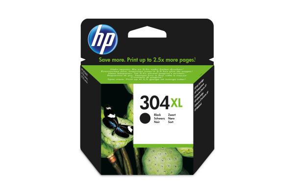 HP Tintenpatrone 304XL schwarz N9K08AE DeskJet 3720/30...