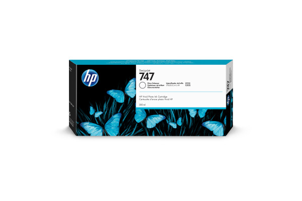HP Tintenpatrone 747 gloss enhan P2V87A DesignJet Z9+ 300ml