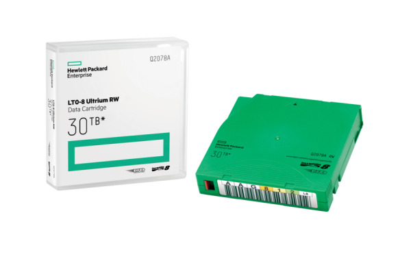 HP LTO Ultrium 8 12 30TB Q2078A Data Tape