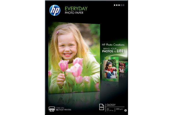 HP Everyday Photo Paper A4 Q2510A InkJet glossy 200g 100...