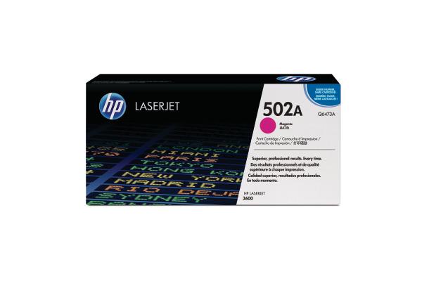 HP Toner-Modul 502A magenta Q6473A Color LaserJet 3600 4000 S.
