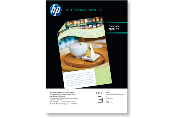 HP Superior Paper matt A4 Q6592A InkJet, 180g 100 Blatt
