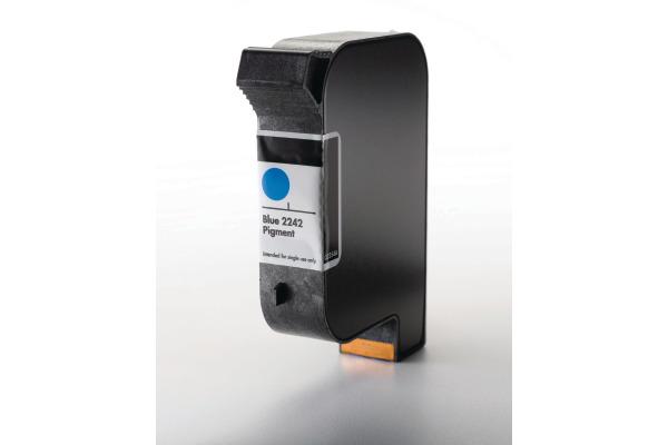 HP SPS Tintenpatrone, 40 ml blau Q2354A Pigment Color Waterfast