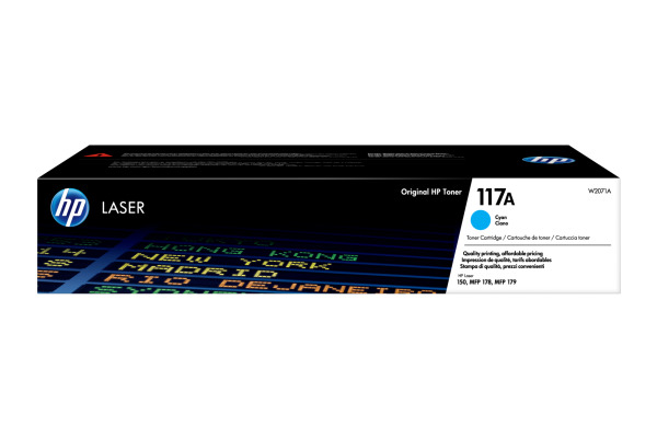 HP Toner-Modul 117A cyan W2071A Color Laser MFP 178nw 700 Seiten